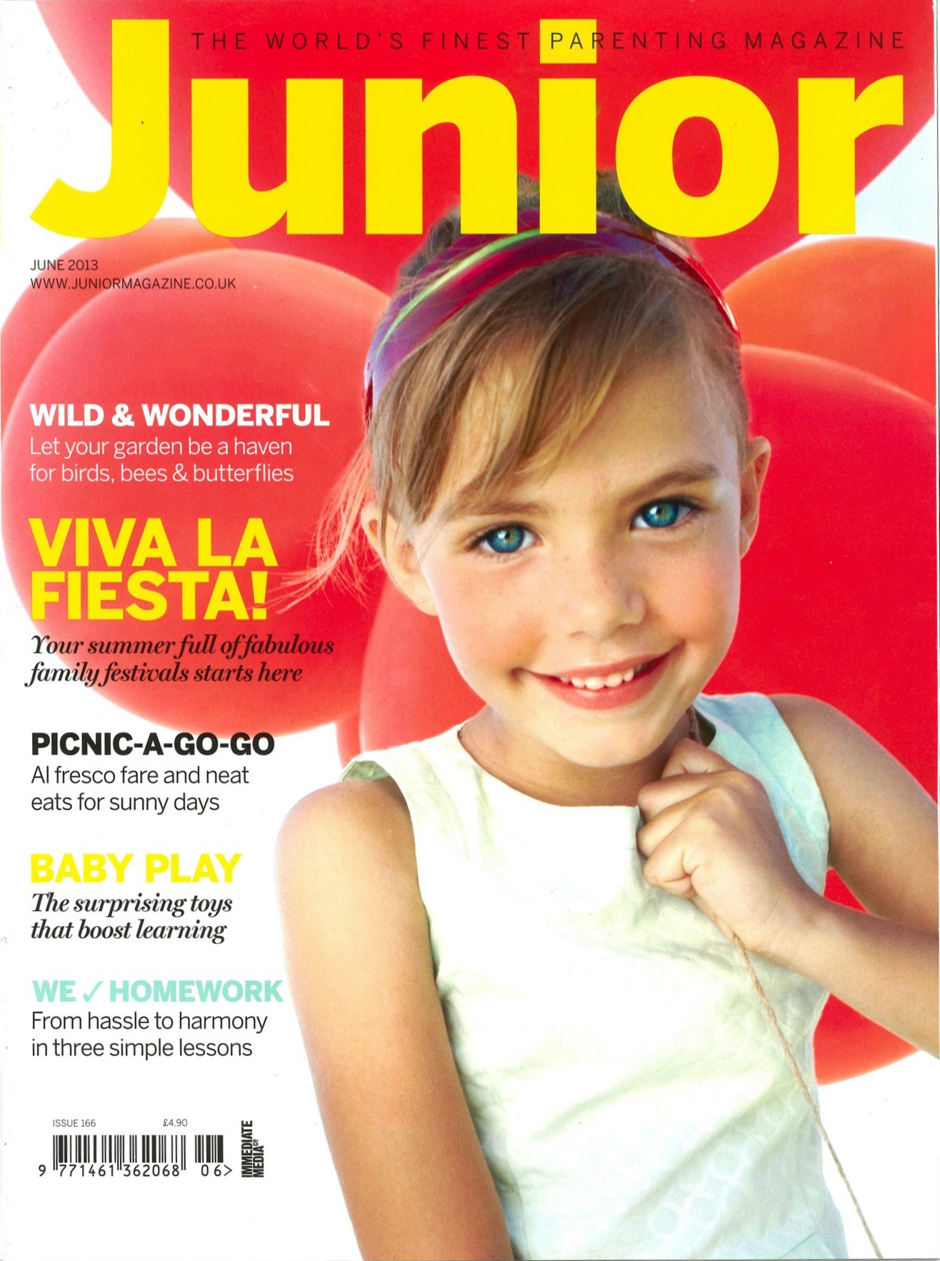 Junior Magazine Covers from 2013