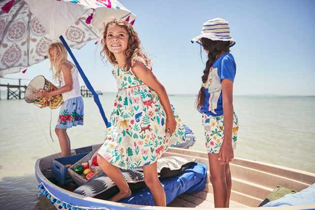 Fun tees with the feel good factor from Boden X Tusk