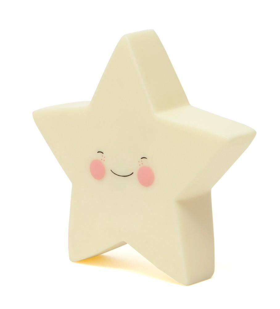 Night light star yellow £10 www.ministylin.com