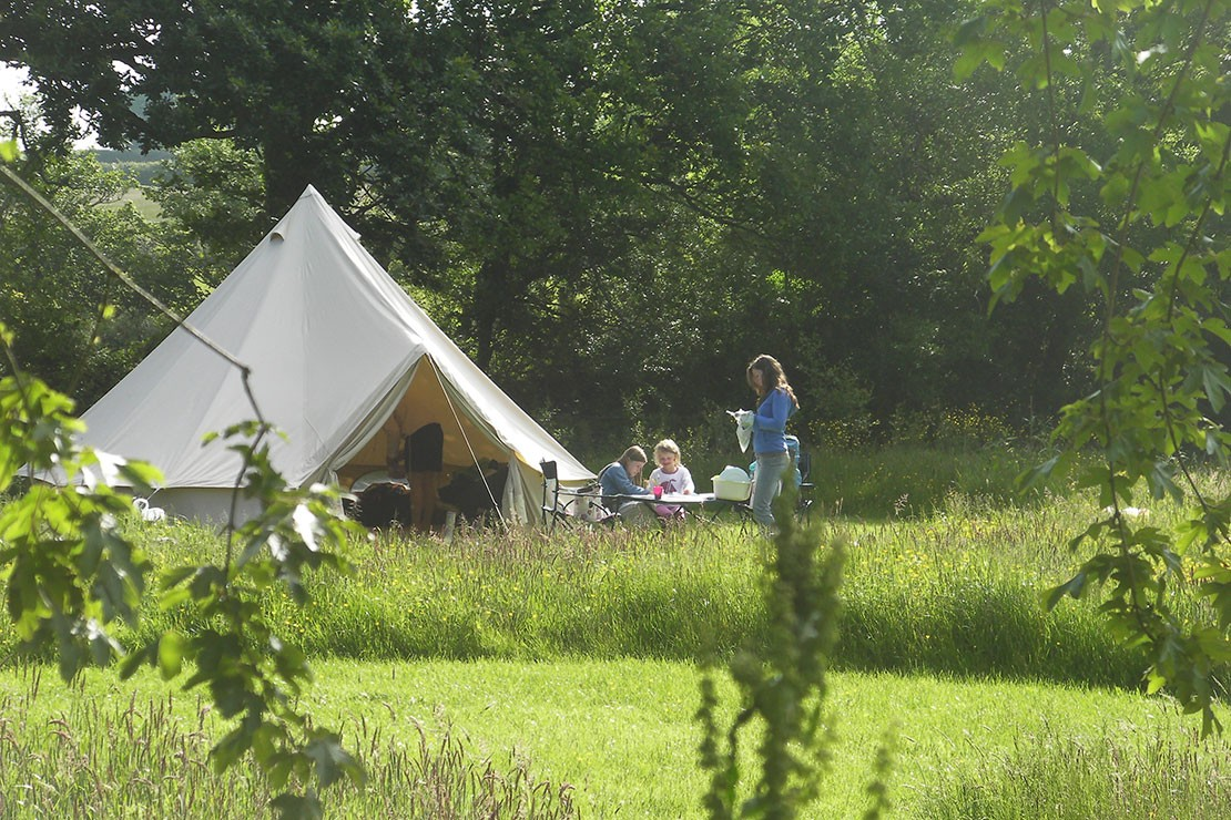 10 cool family-friendly camping sites in the UK