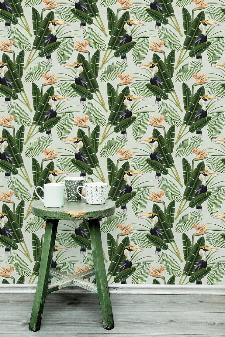 Birds of Paradise Wallpaper by MINDTHEGAP