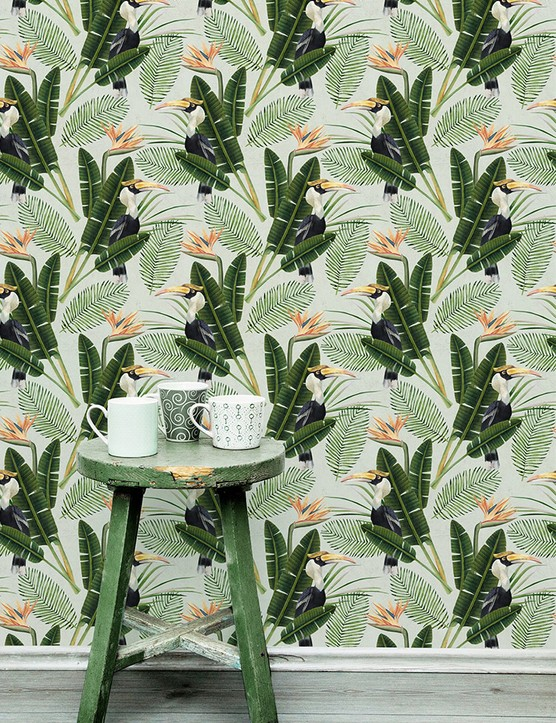 Birds of Paradise Wallpaper by MINDTHEGAP