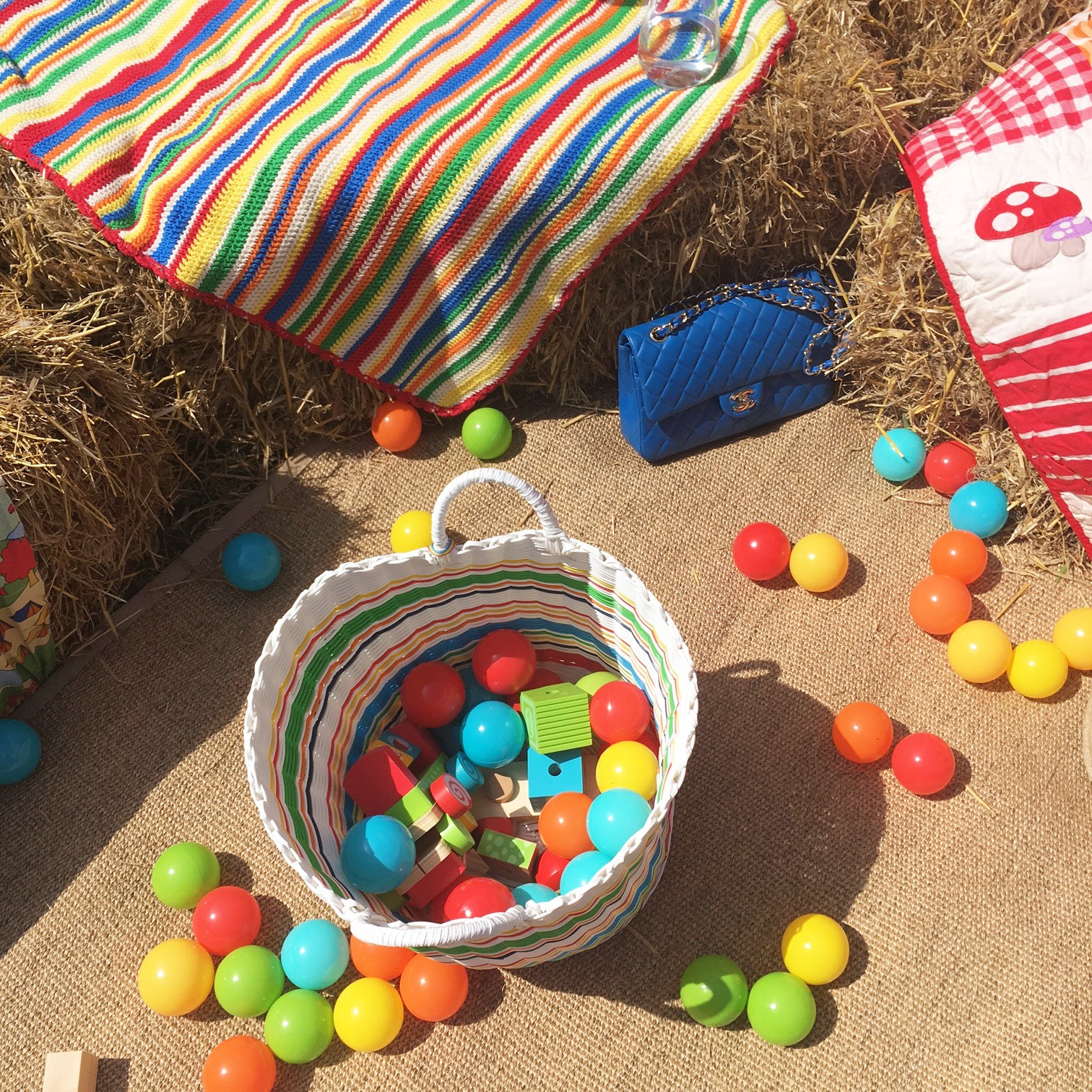 As always Little Bird made sure the little guests were looked after with a mini ball pit, a bubble machine and giant dominoes