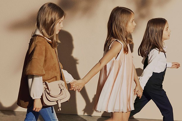 Exclusive Chloé kids birthday collection at Harrods
