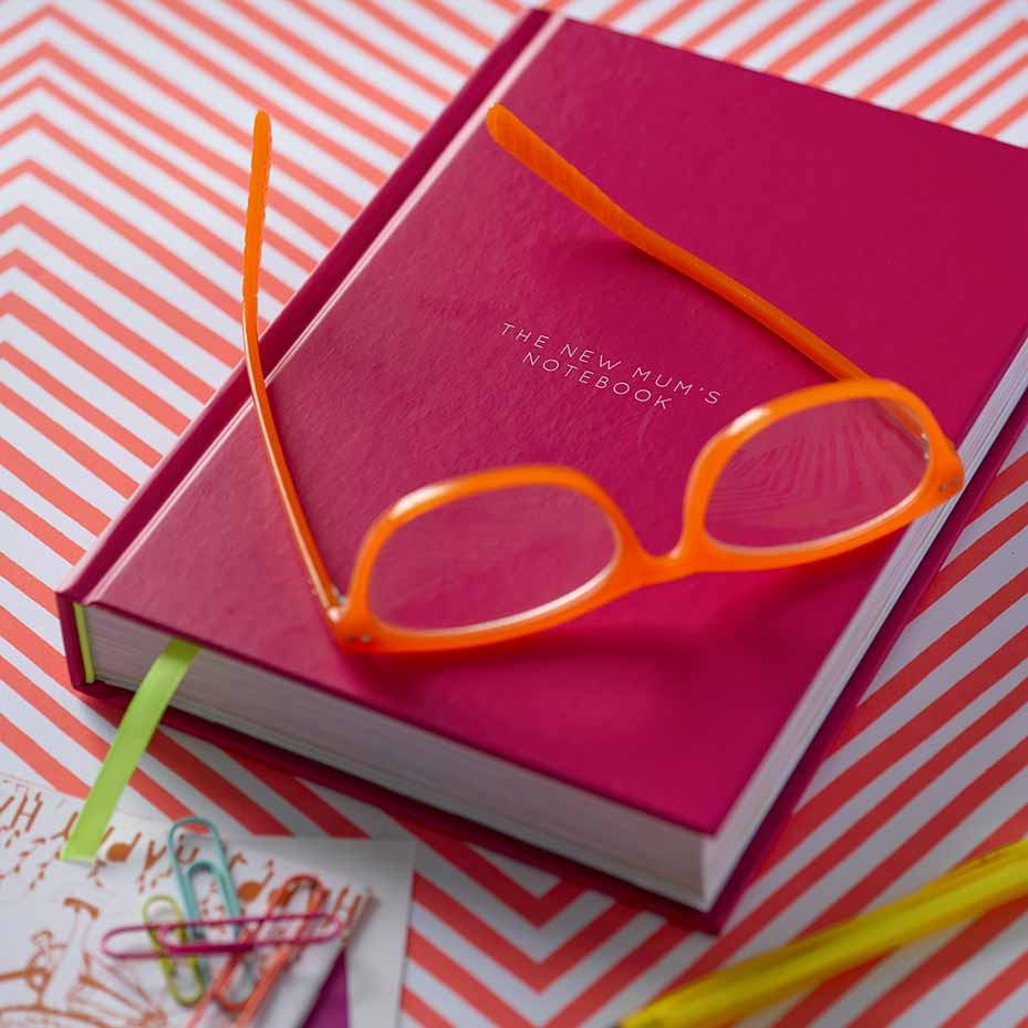 The notebook every new mums needs
