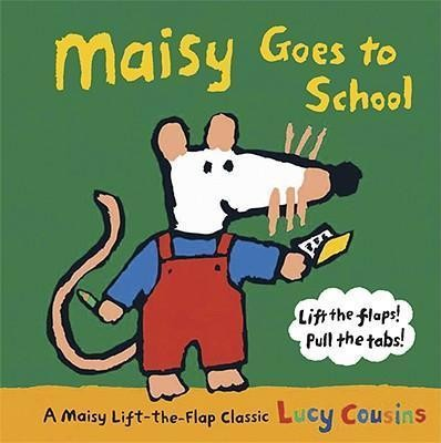 Junior meets Maisy Mouse author and illustrator Lucy Cousins