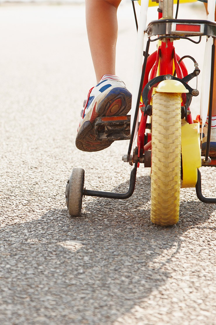 How to teach your child to ride a bike with confidence