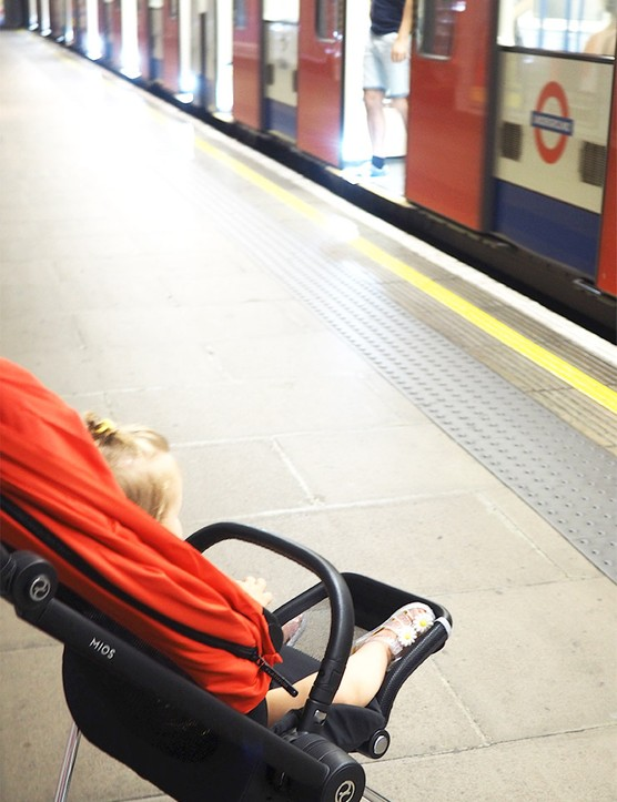 The Cybex Mios lightweight stroller put to the test in London