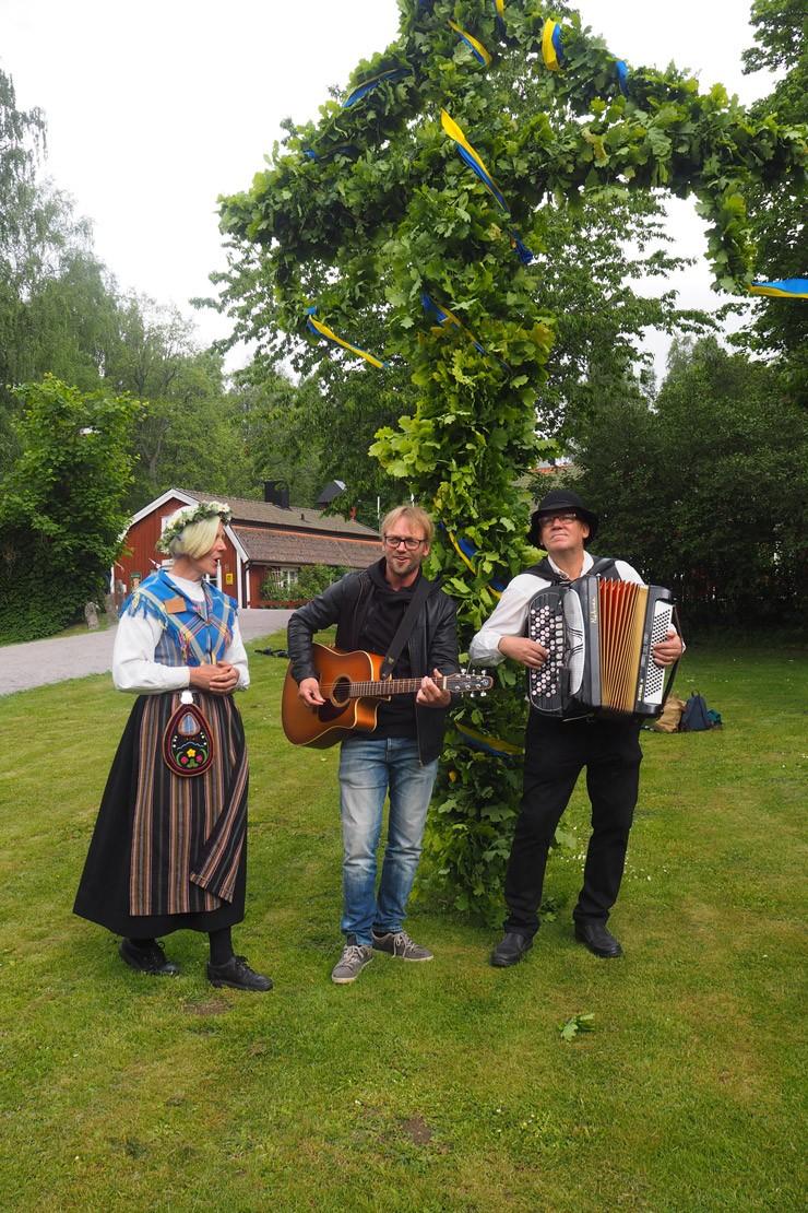 Midsummer Celebrations in Smaland, Sweden