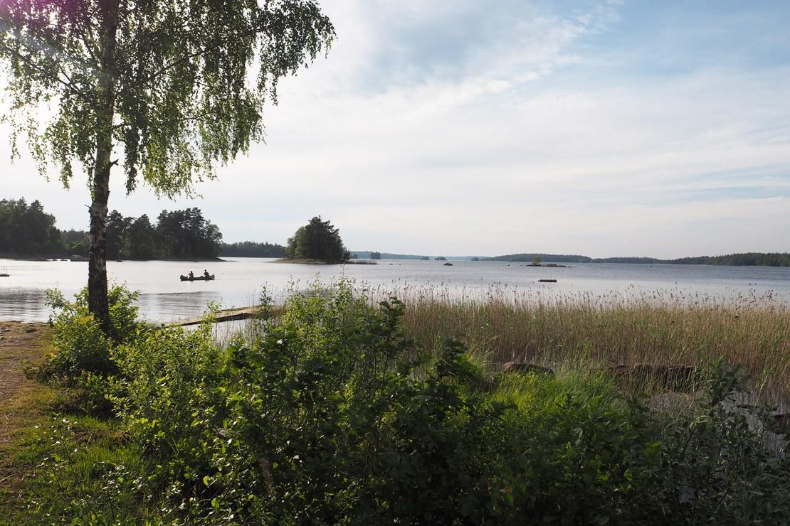 Lake Asnen in Smaland