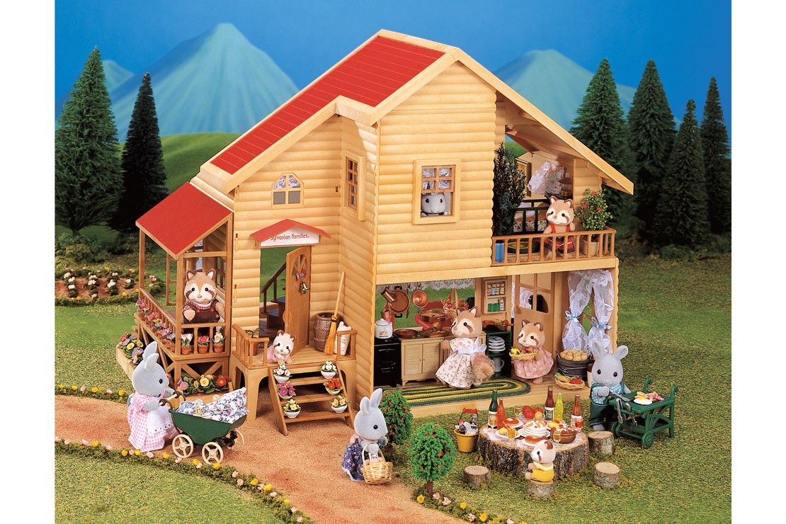 Sylvanian Families Vintage Large Red Roof House
