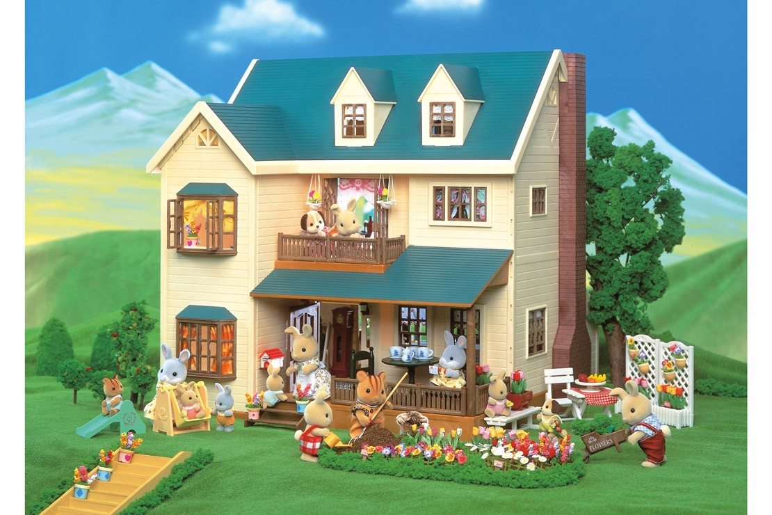 Sylvanian Families Vintage Deluxe House on the Green
