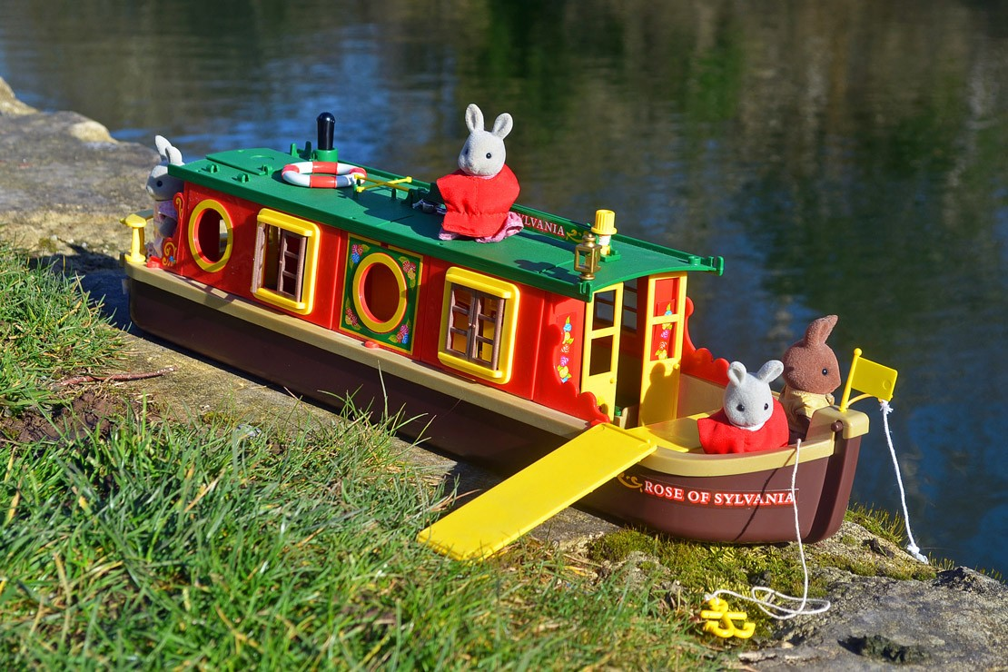 Sylvanian Families Vintage and rare Riverboat