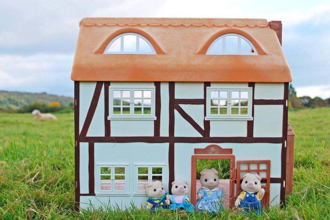 Sylvanian Families Vintage Original Farmhouse