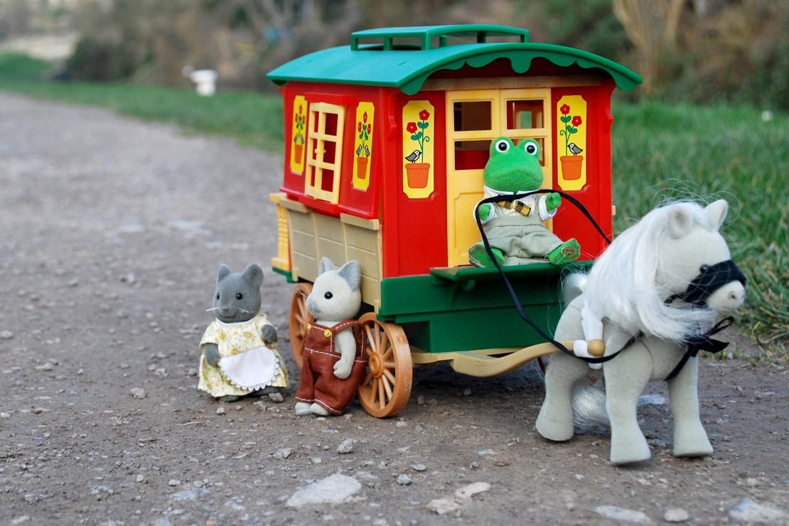 Sylvanian Families Vintage Gypsy Caravan