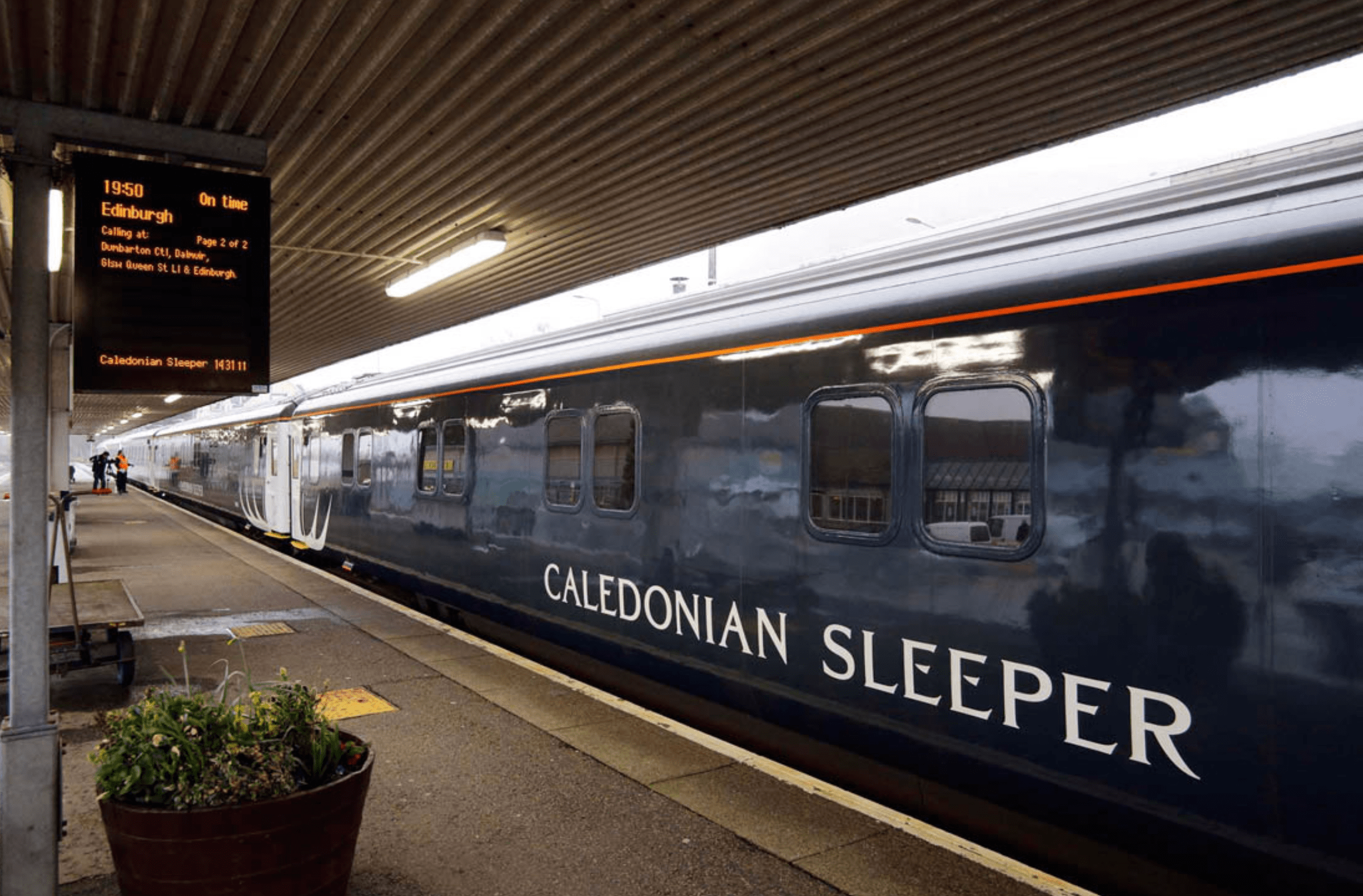 The Caledonian Sleeper: Tips for taking the children