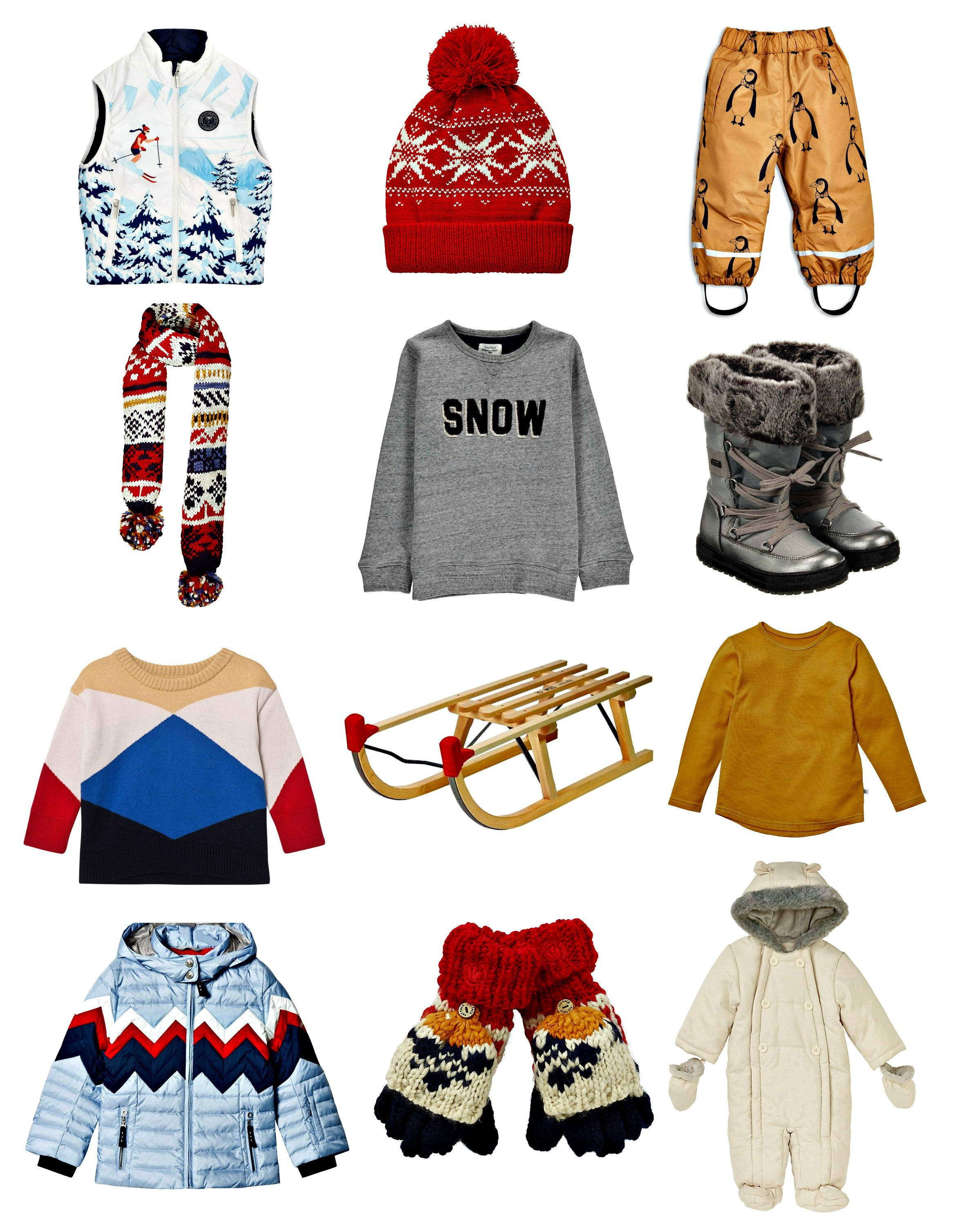 Our pick of the most stylish ski wear for children