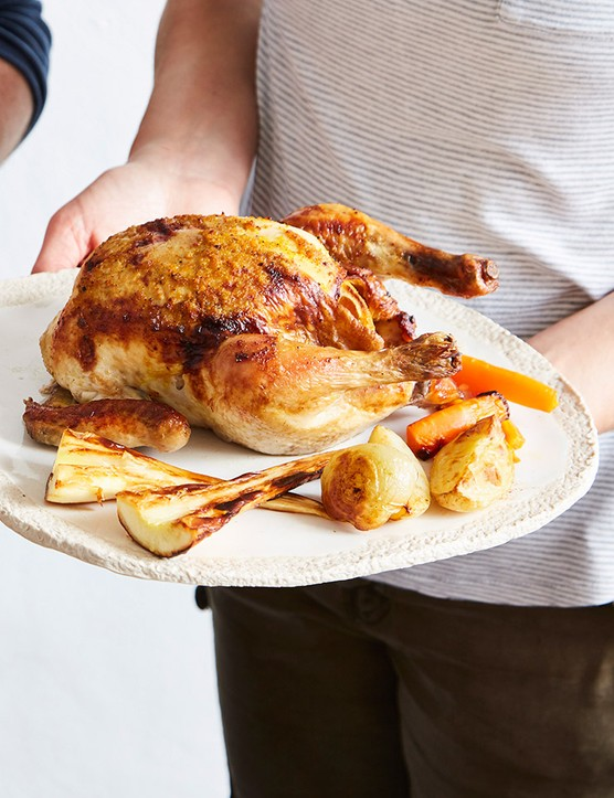 Sunday lunch made easy: a 2-course meal for all the family