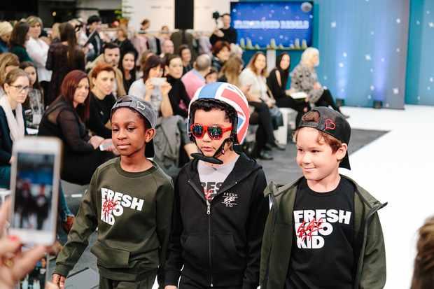 Bubble Children's Catwalk Show: Behind the Scenes