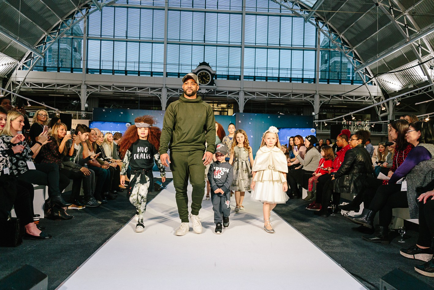 Insta Kids take over the Bubble catwalk show