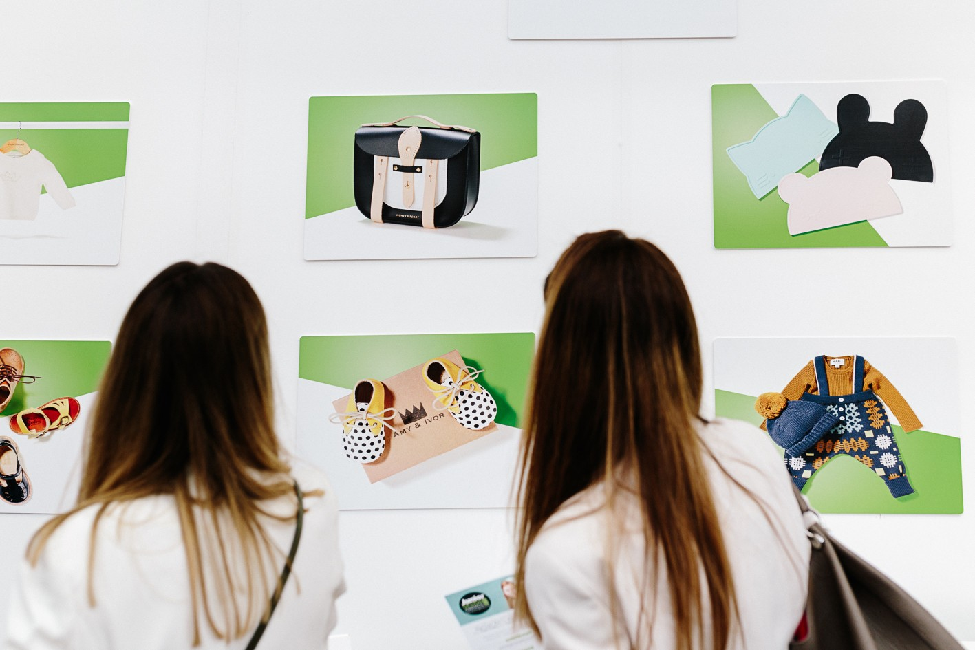 The Junior stand at Bubble London showcasing the Junior Design Awards #jada winners