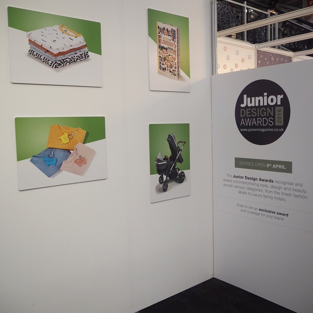 The Junior stand at Bubble London
