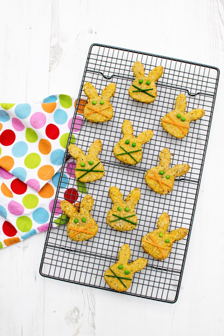 Healthy Carrot Oat Biscuits for Easter