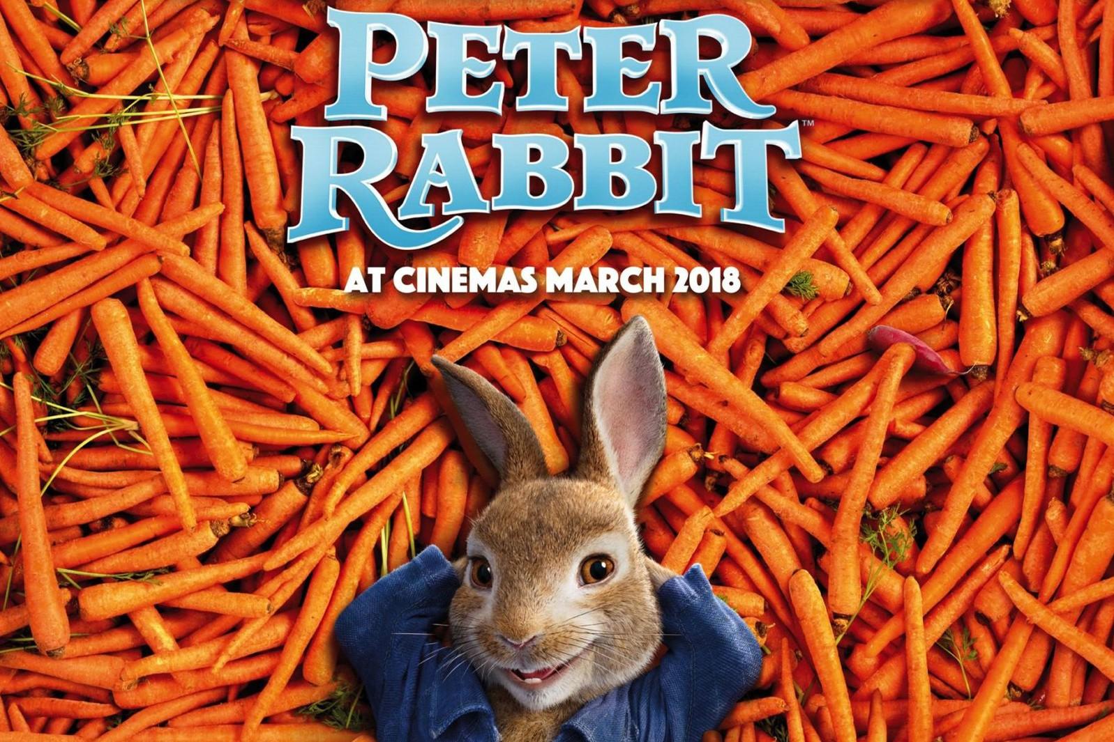 Peter-Rabbit-UK-posterPeter Rabbit buys the kids will love