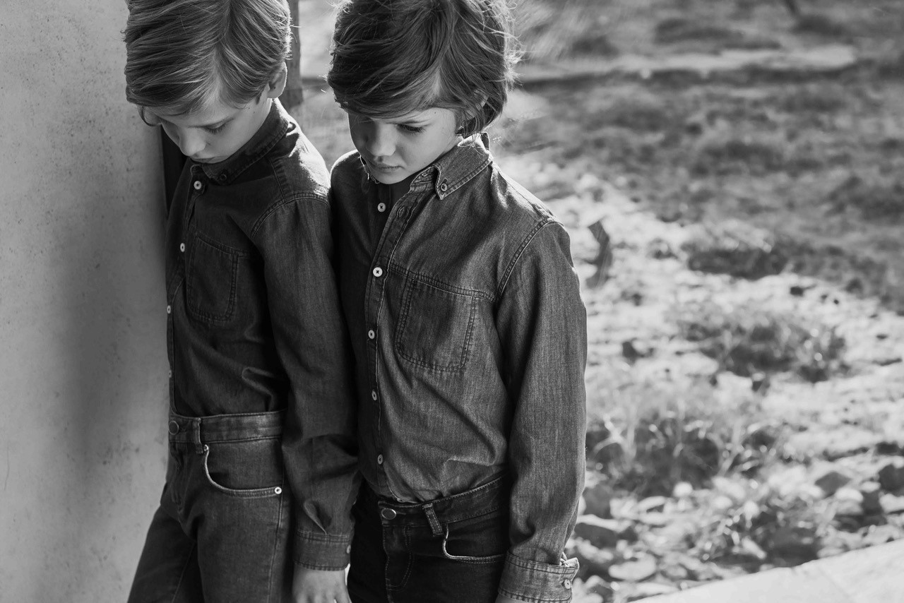 Just Landed: Massimo Dutti boys & girls spring campaign