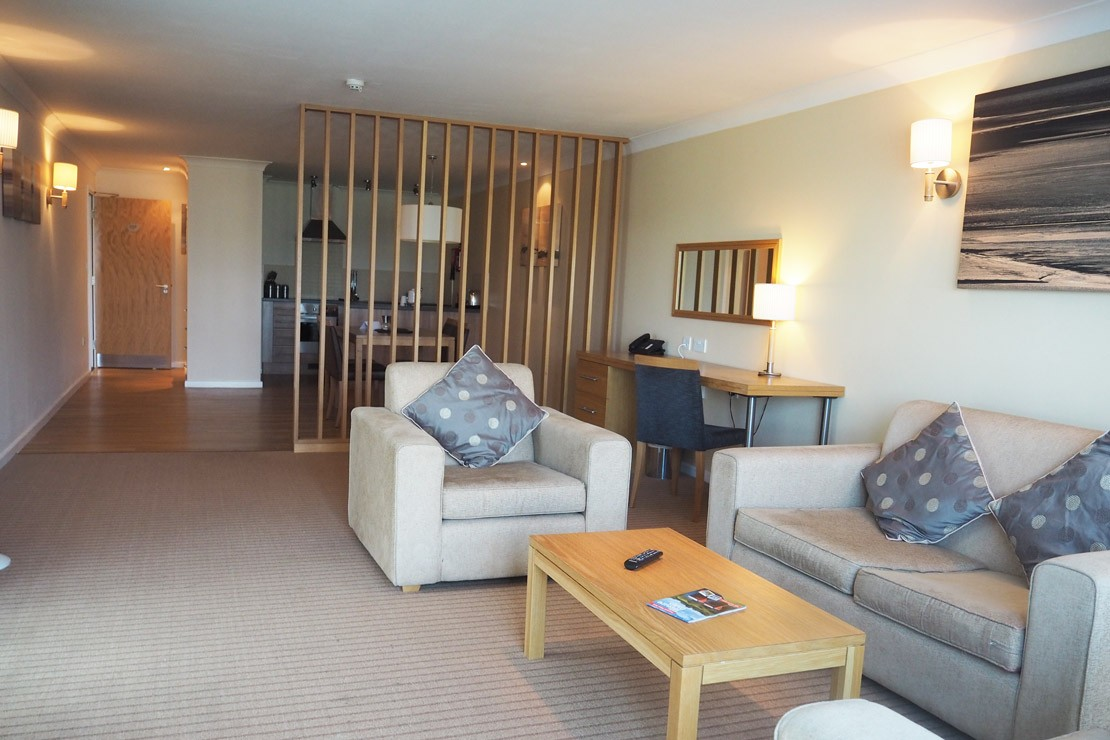 The family-friendly living are in the apartments at De Vere in the Cotswolds