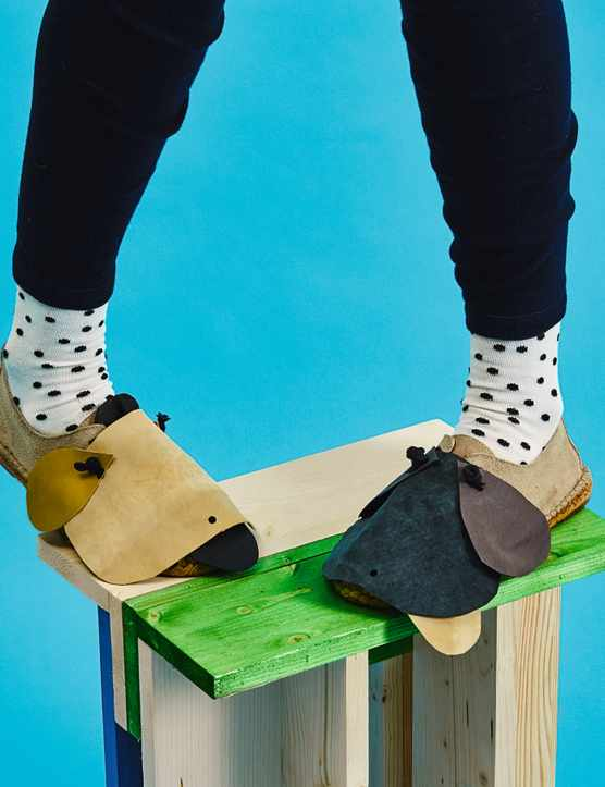 Now Make This: Craft project Critter Shoes