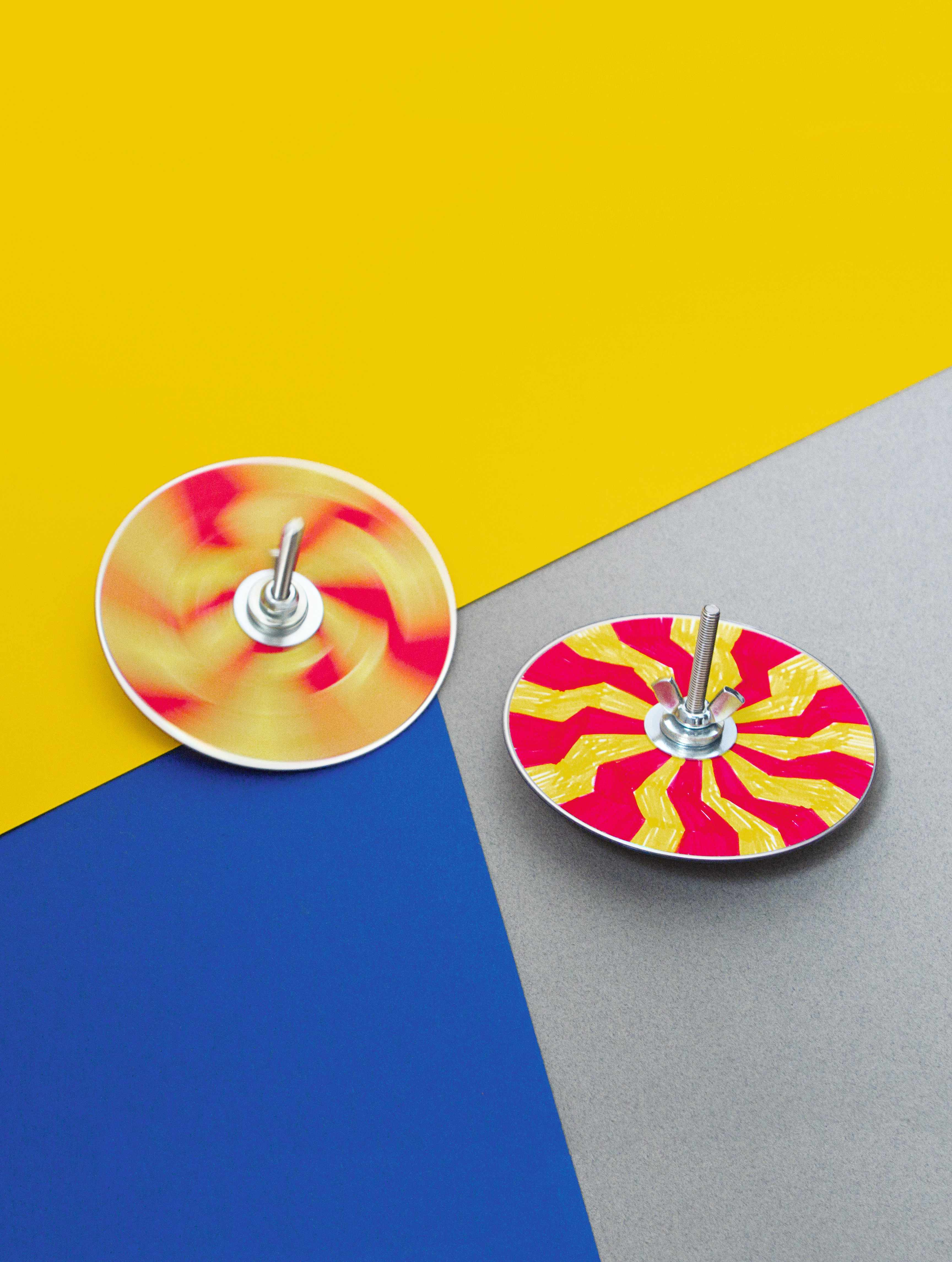 Now Make This: Craft project CD Spinner