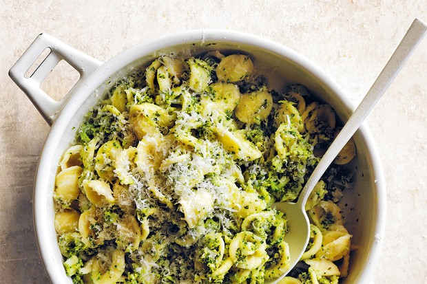 Mean Green Pesto Pasta for kids by Donna Hay