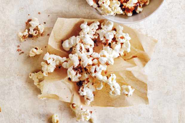 Popcorn Bags with five-star toppings by Donna Hay