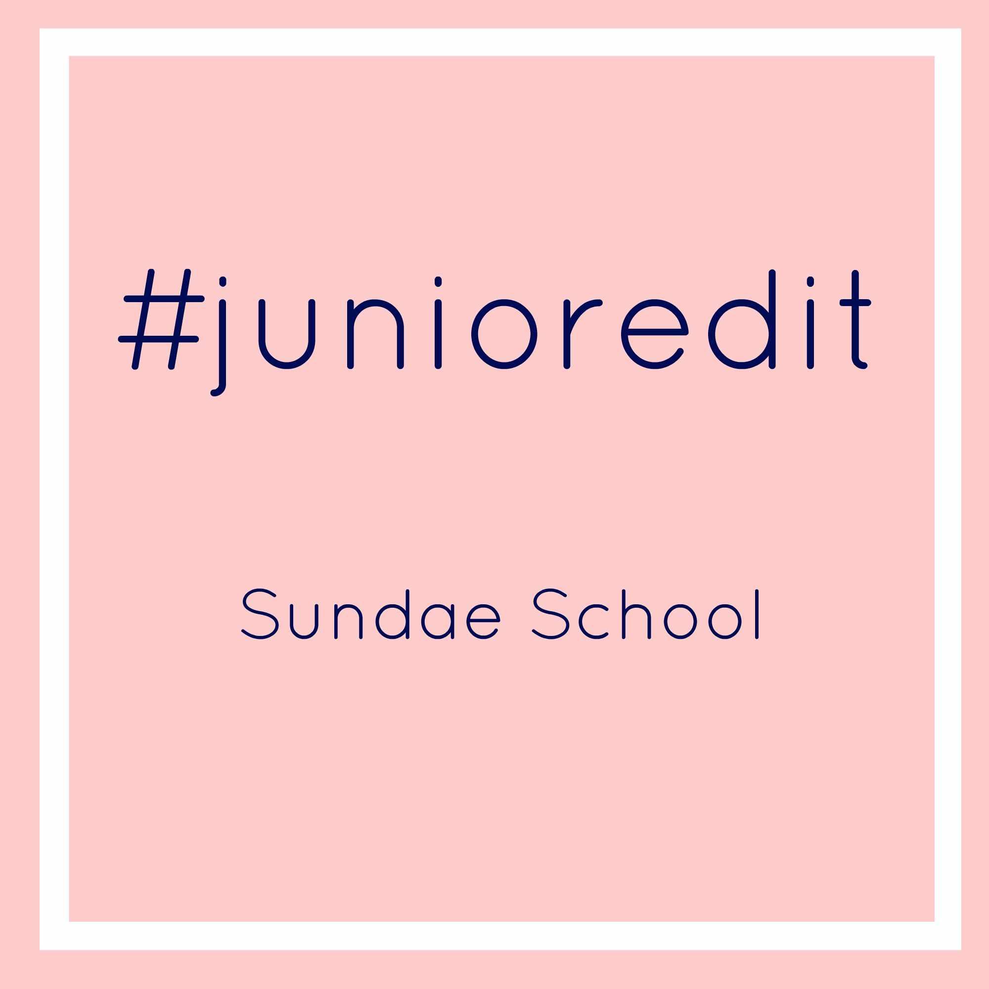 Sundae School   Junior Edit