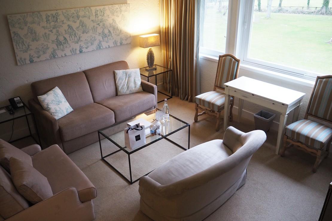 Duplex suites at Les Manoirs de Tourgeville is set over 2 floors