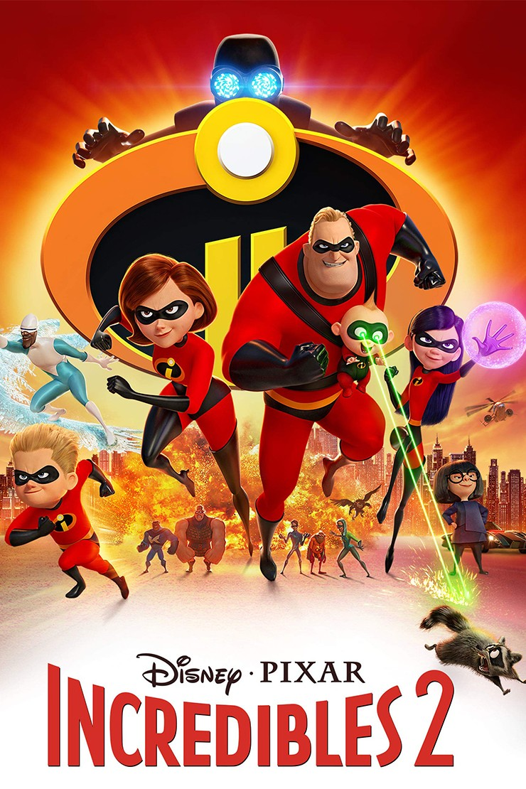 5 great reasons to see The Incredibles 2