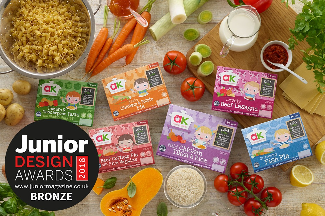 Best Children's Food Brand | Junior Design Awards 2018