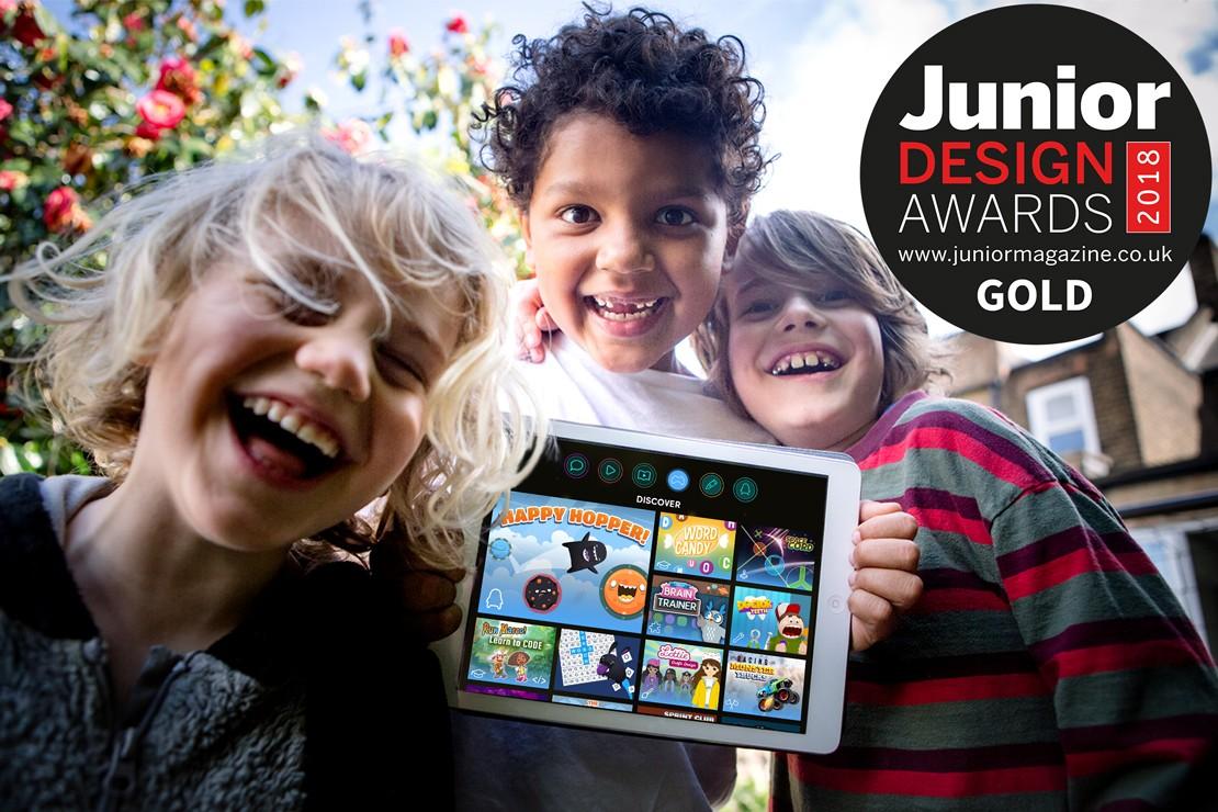 Best Children's/Family App   Junior Design Awards 2018
