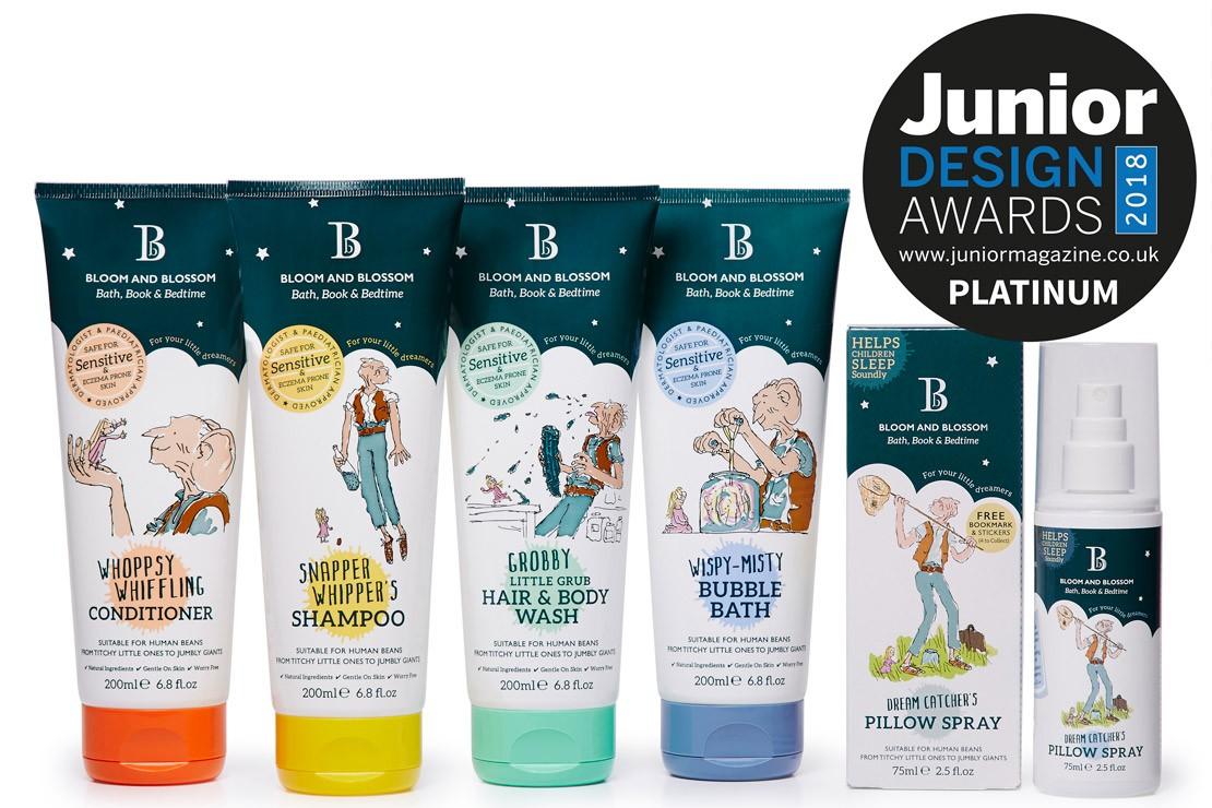 Best Children's Toiletries Collection | Junior Design Awards 2018
