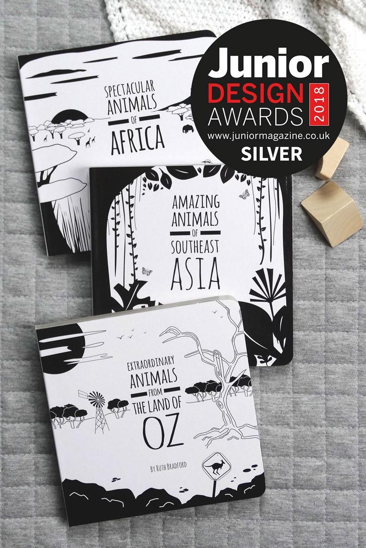 Best Baby Book 0-2 years | Junior Design Awards 2018