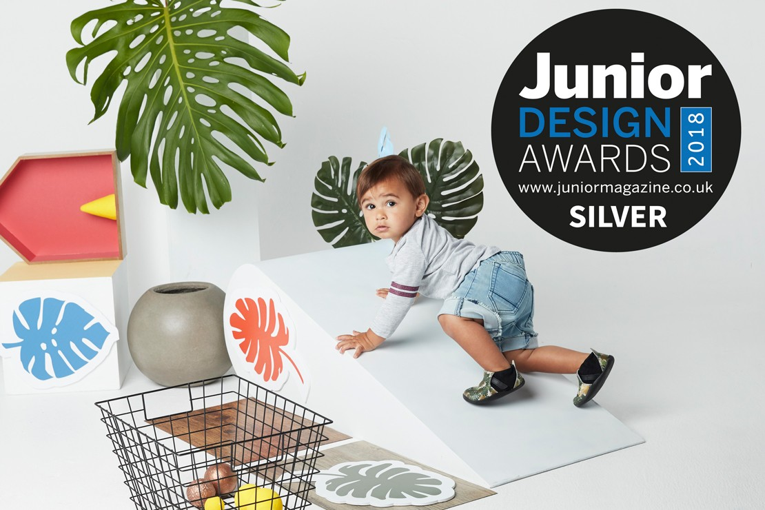 Best First Walker Footwear Collection | Junior Design Awards 2018