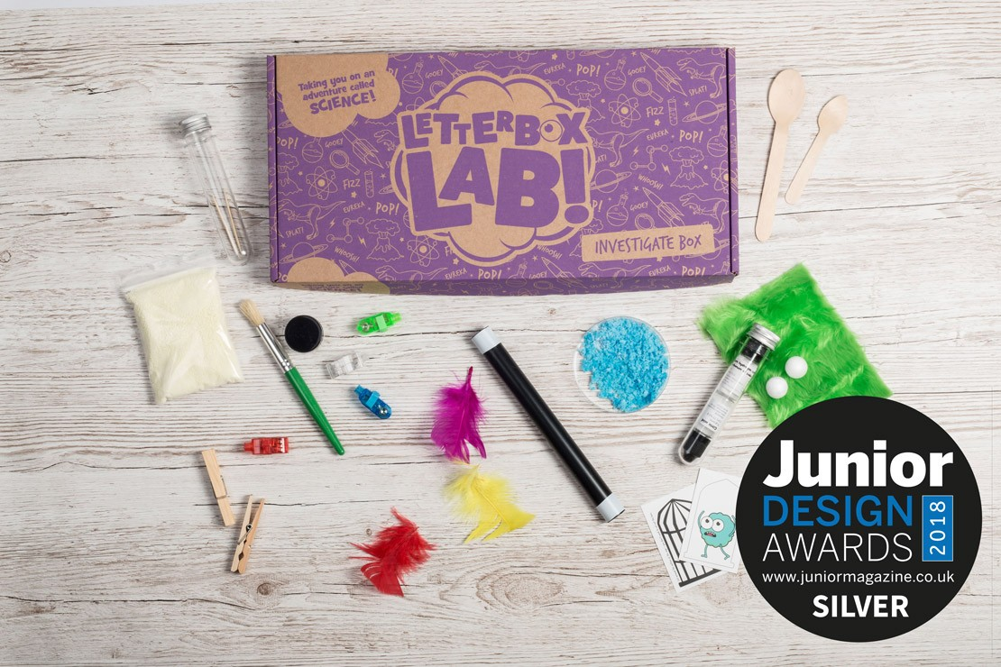 Best Kids Subscription Box | Junior Design Awards 2018