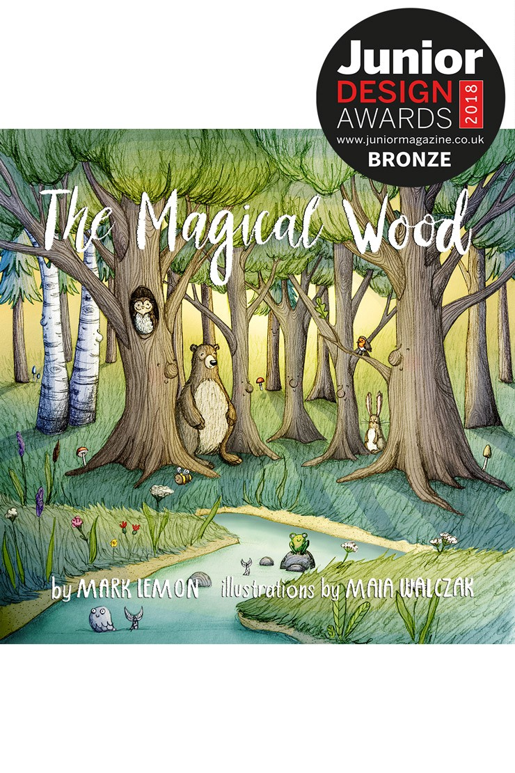 Best Designed/Illustrated Book for Children | Junior Design Awards 2018