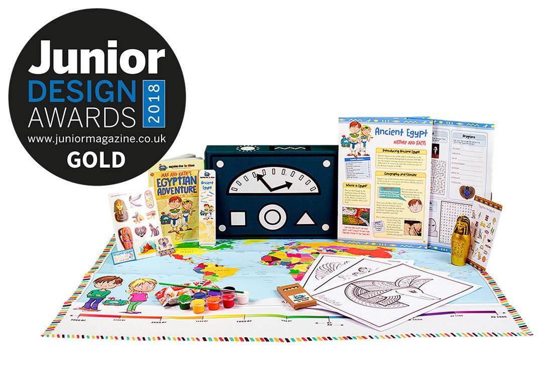 Best Kids Subscription Box | Junior Design Awards 2018