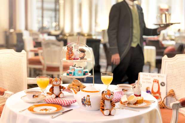 The Tiger Who Came to Tea at the Savoy, London
