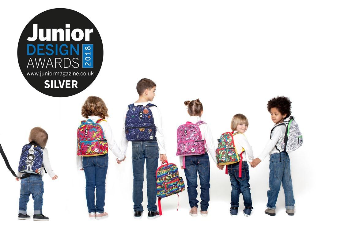 Best Children's Backpack Design   Junior Design Awards 2018