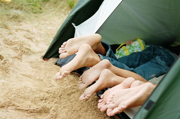 An experts guide to Camping with the kids