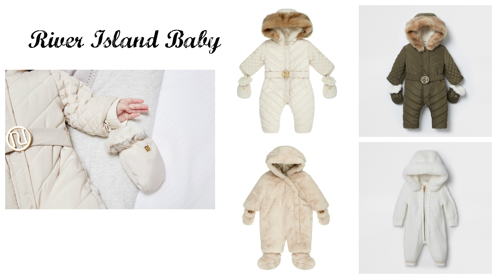 The HERO snowsuit by River Island Baby