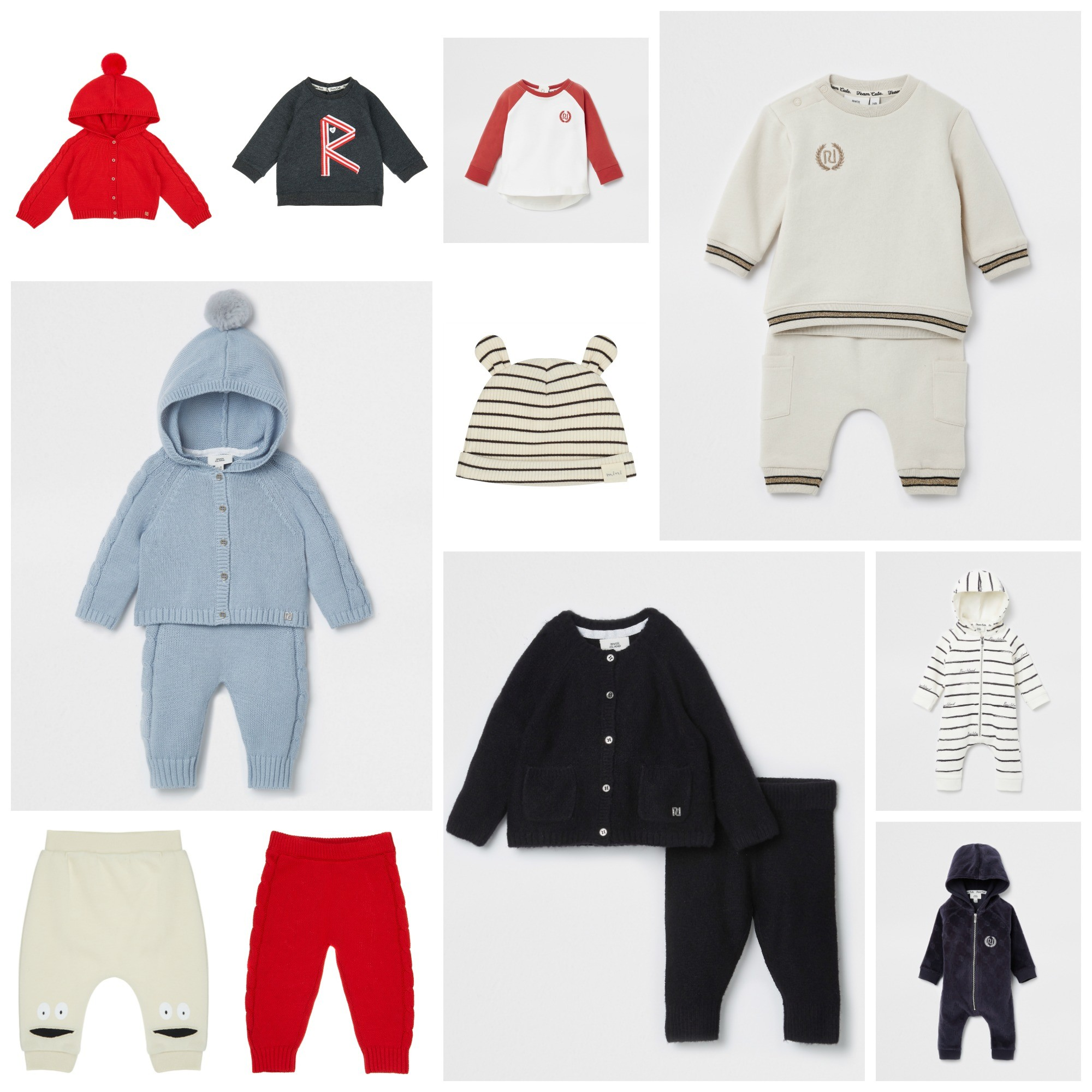 The new River Island baby collection has arrived...